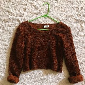 Sweaters - Sweater, cropped